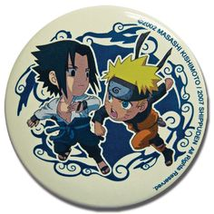 Department is Clothing, Jewelry, Button/Brooch. Primary color is White. Publisher is GE Animation. Series is Naruto Google Cats, Sasuke Vs, Lucky Day, Anime Merchandise, Naruto Shippuden, Primary Colors, Chibi, Color Schemes, Congratulations