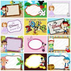 Disney Jr Inspired Autograph Book World Disneyland Vacation Magical