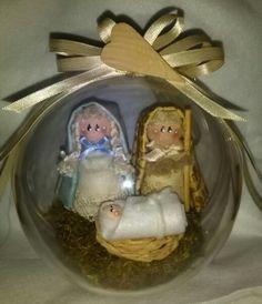Decorazioni di Natale - presepe