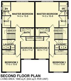 Plan 80655PM: Open Floor Plan | Open floor, Open plan kitchen and ...