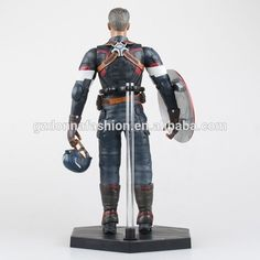 Wholesale PVC The avenger alliance 1/6 movable captain America action figure, View captain America, donnatoyfirm Product Details from Guangzhou Donna Fashion Accessory Co., Ltd. on Alibaba.com