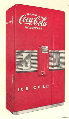 Vintage Cola Dispenser