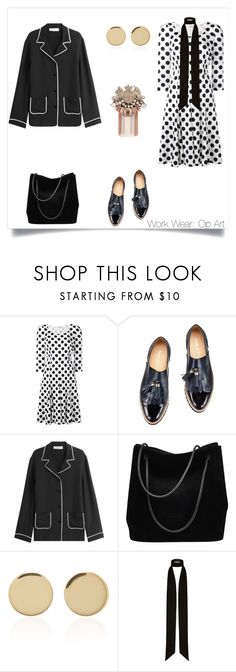 """Work Wear: Op art"" by marinaova ❤ liked on Polyvore featuring Dolce&Gabbana, Valentino, Gucci, Magdalena Frackowiak and River Island"