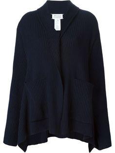 380edf6978 MAISON MARGIELA Draped Cascading Cardigan.  maisonmargiela  cloth  cardigan  Cozy Sweaters