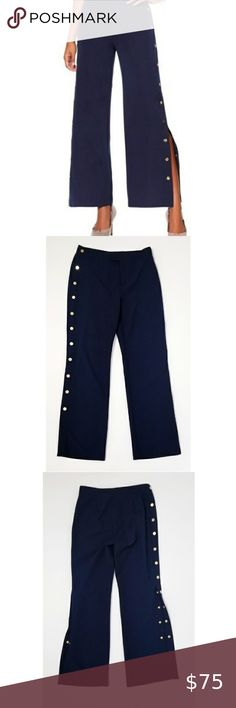 Girls School Uniform Grey Black Navy Heart buckle Trousers Pants All Size
