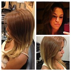 Corrective color/ ombre, haircut, blowout and style by Kara!!! #color #correctivecolor #hair #haircut #ombre #blowout #style #salon #beauty #summertimehair #newbrunswick #rutgers www.facebook.com/sparkshairdesign www.sparkshairdesign.com