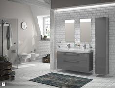Łazienka dla czyściocha. Pomysły na aranżacje i rozwiązania technologiczne ułatwiające sprzątanie - KOŁO