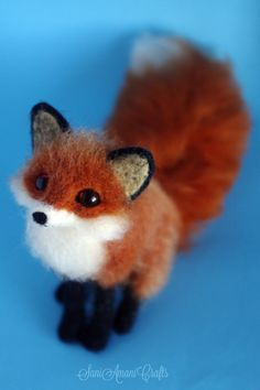 Red fox V by SaniAmaniCrafts.deviantart.com on @DeviantArt