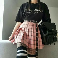 Korean Fashion – How to Dress up Korean Style – Designer Fashion Tips Edgy Outfits, Mode Outfits, Cute Casual Outfits, Pretty Outfits, Girl Outfits, Cute Grunge Outfits, Princess Outfits, Tumblr Outfits, Hipster Outfits