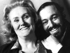 Joan Sutherland and  Luciano Pavarotti