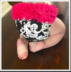 Custom ruffled diaper covers!!!! by Bella Baby Couture on Etsy, $10.00