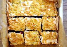 Kruche ciasto z owocami i bezą Spanakopita, Ethnic Recipes, Desserts, Food, Kuchen, Tailgate Desserts, Deserts, Essen, Postres