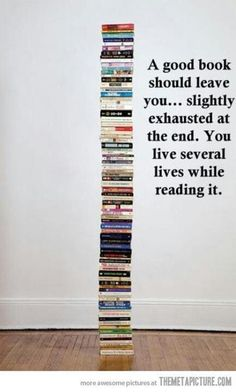 The truth about books. this is how I feel when I read Joyce Carol Oates - exhausted and overwhelmed and like I want to read it again.