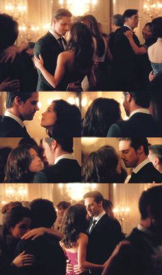 Catherine & Vincent have a dance at her fathers wedding. very romantic