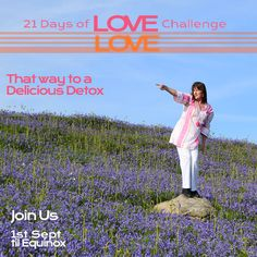 21 Days of Love Challenge Love Challenge, Passion Project, Love Life, That Way, Detox, Challenges, World, Movie Posters, Film Poster