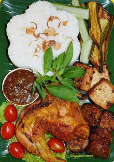 AMIE'S LITTLE KITCHEN: Resepi Nasi Ayam Penyet Paling Sedap!