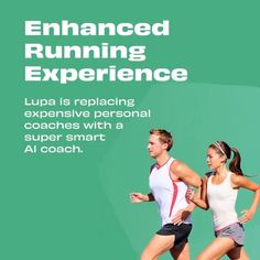 """We're excited about @wearelupa unleashing people's running abilities replacing expensive personal coaches with a super smart AI coach. Their running coach takes care of your training from warm-up to cool-down with live, responsive audio cues based on your goals and actual performance. Running is more than just """"put your shoes on and go"""" People Running, Growth Hacking, Coaches, Take Care Of Yourself, Audio, Training, Goals, Warm, Rock"""