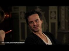 Andrew Scott Interview with Simon Stephens - Sea Wall Film Part 1: Under the Proscenium - YouTube