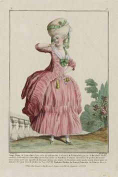 Открытки франции 18 века