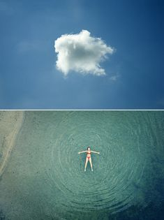 Diptychs of Clouds and Cloud Watchers