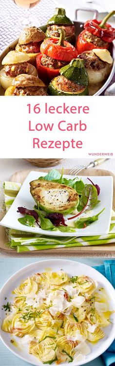 wenig Kalorien   Diätrezepte   Abnehmen   #gesundessen