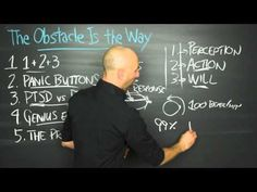 """Here are some of Brian Johnson's favorite Big Ideas from Ryan Holiday's  book """"The Obstacle Is the Way."""" Thinking of having a weekly Book Review. Are you guys interested?"""