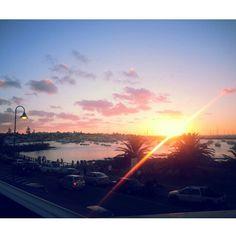 Sunset Punta del Este Uruguay