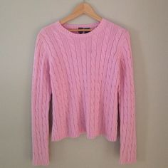 Pretty in Pink Sweater From Calvin Klein in new condition~worn probably 2x. No pulls etc..Cute & Cozy for a cool spring or summer night Calvin Klein Sweaters Crew & Scoop Necks