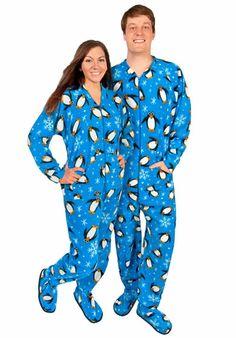 Mens Footed Pajamas Polar Bears Fleece with Drop Seat Size 6 | I ...