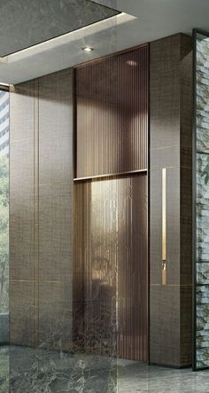 Ideas for elevator lobby seating interior design Hotel Lobby Design, Elevator Lobby Design, Interior Design Minimalist, Luxury Interior Design, Lift Design, Design Design, Design Logo, Design Studio, Lobby Design