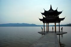 """West Lake in Hangzhou is not a place to be missed. There is a Chinese saying that goes, """"Above there is heaven, below there are Suzhou and Hangzhou."""" #travelogue #travel #Hangzhou #beautiful #scenary #photography  #gorgeous #romantic #urbanlife #urbanite #city #citylife #nature #WestLake #sunset"""