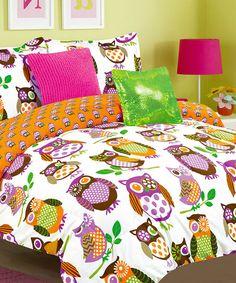 Orange Yukon Comforter Set