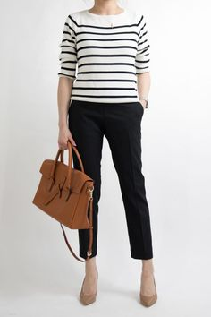 62cfc61cf43 1 MONTH of Work Outfit Ideas for Women who work in an office. Office Attire  Women Professional OutfitsSmart Casual ...