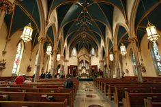 Connecticut | St. Augustine Episcopal Cathedral in Bridgeport, CT - Inside view from your Trinity Stores crew.
