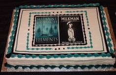 The now-famous cake from the Ad Astra launch party of Elements and The Milkman