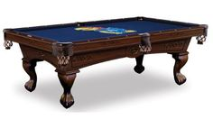 University of Kansas Jayhawks Pool Table