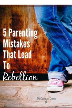 Sign up for this FREE 5 days series of common mistakes parents make that can instill a spirit of rebellion in their child's heart.