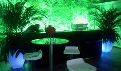 #vasos LED acionados por controle remoto #flowerpots led rgb by FOLYLED