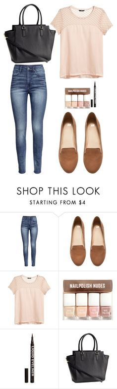 """""""H&M"""" by izzie1800 ❤ liked on Polyvore featuring H&M"""