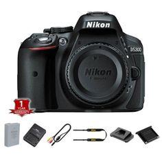 94404 photo-video New Nikon D5300 Digital SLR Camera Body + 1 Year Warranty  BUY IT NOW ONLY  $405.98 New Nikon D5300 Digital SLR Camera Body + 1 Year Warranty...