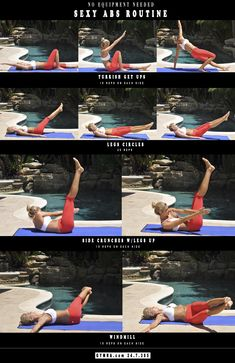 Ab Workout. Get yourself in the best shape of your life with www.gymra.com. Start your free month now!!! Cancel anytime. #fitness #exercise #abs#motivational #workouts #shape#health