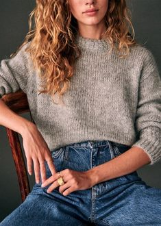 Oct 2019 - Sharing a round up of my ten favourite picks from the Sezane Autumn 2019 Collection, and what details drew me to each of those pieces. Mode Outfits, Fall Outfits, Casual Outfits, Fashion Outfits, Womens Fashion, School Outfits, Looks Style, Style Me, Simple Style