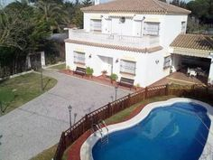 Ref.1747 Casa Adara con piscina y sauna en Chiclana. Playa La Barrosa, Cádiz. Fot...