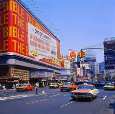 Times Square, New York City 1960s