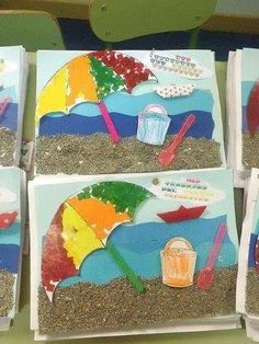 7 Fast And Easy Summer Decorating Ideas For Any Budget! Kids Crafts, Summer Crafts For Kids, Summer Kids, Preschool Crafts, Diy For Kids, Kindergarten Activities, Summer Activities, Preschool Activities, Summer Art Projects