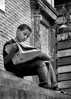Buscando buenas noticias que leer