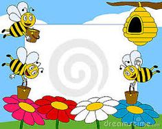 Cartoon Bees Photo Frame Stock Vector - Illustration of animals, colours: 9406419 English Festivals, Cartoon Bee, Printable Frames, Bee Photo, Flower Designs, Disney Characters, Fictional Characters, Clip Art, Drawings