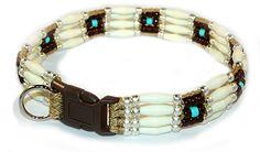 Southwestern Beaded Hopi Dog Collar