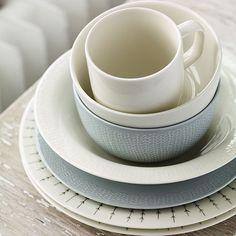 iittala Sarjaton Letti Pearl Grey Soup/Cereal Bowl - iittala Sarjaton