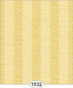 NEW!!!  Dollhouse Wallpaper   Grass Stripe Yellow #DollhousesandMore